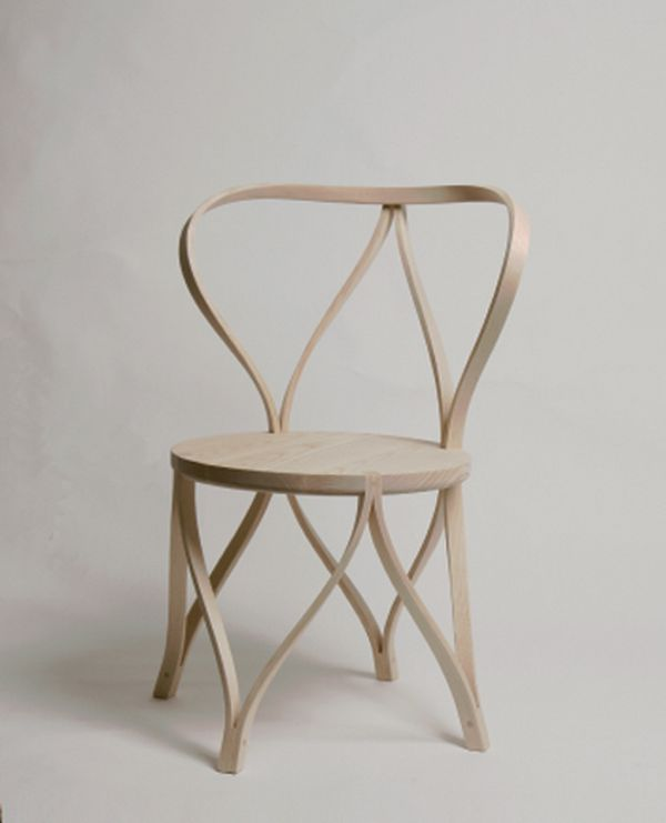 Artistic Tension Bentwood Chair Design by Dohoon artistic bentwood ...