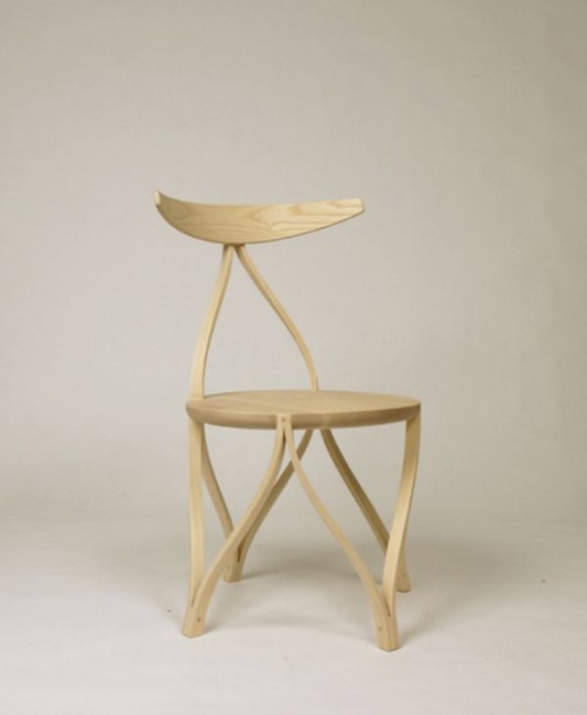 bentwood chair unique and artistic design
