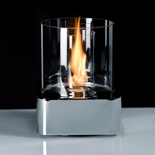 Beautiful centerpiece table fire lamps design