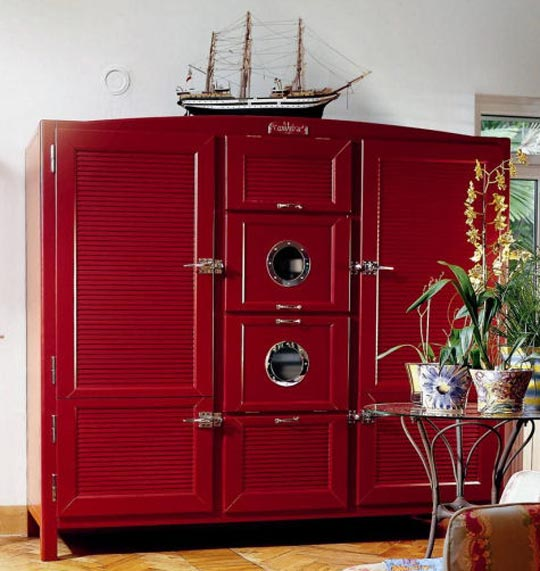 4 Elements Could Bring Out Traditional Kitchen Designs: Big Beauty Elegant Refrigerators For Kitchen Interior