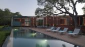 Cascading Creek House by Bercy Chen Studio swimming pool design