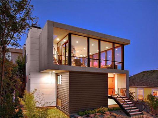 Modern Minimalist Houses With Tight Budget Crockett