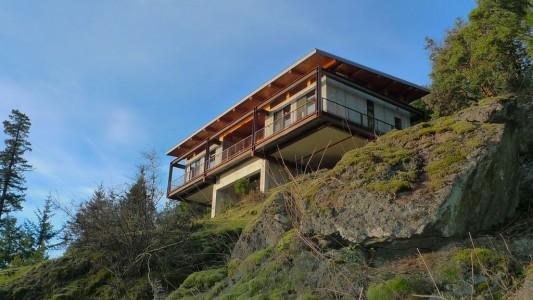 Dramatic Buck Mountain House To Observe Beautiful