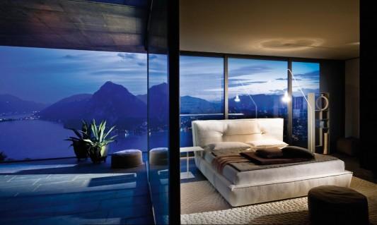 Italian comfortable bedroom decorating ideas