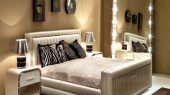 Modern and glamorous Italian Upholstered Bed design