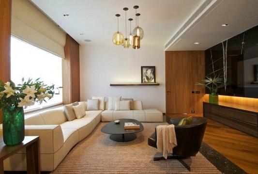 New Delhi Interior Design Ideas by Rajiv Saini living room