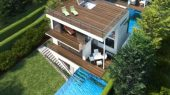 The Concept of Three-Storey House with Swimming Pool