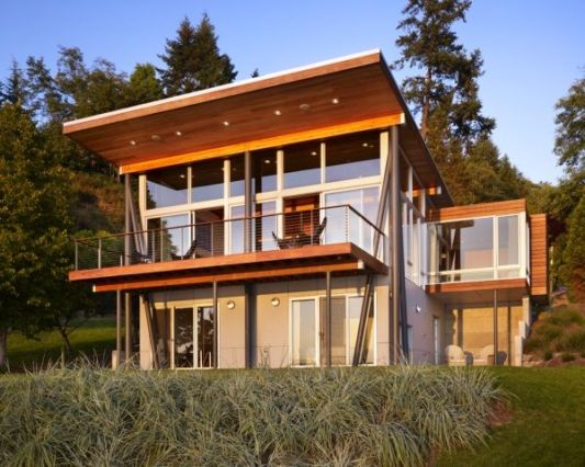 Vashon Island Cabin beautiful beach house design