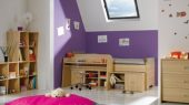 be bop child room design pink purple color