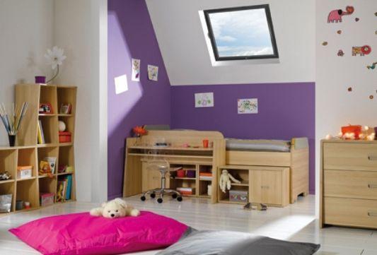 be bop child room design pink purple color