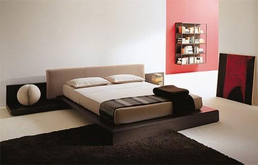 enea modern minimalist Italian bed stylish design