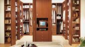 folding shape door walk-in closet design ideas