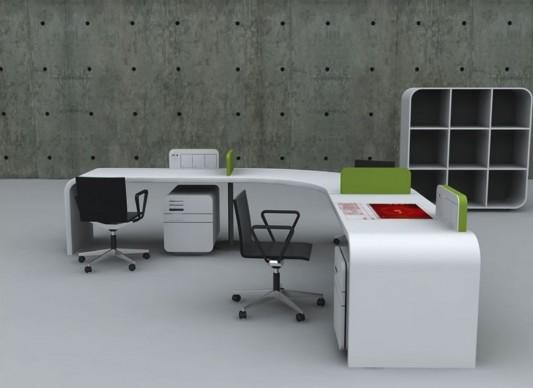 Futuristic Concept Office Desk, Office Furniture Design by ...