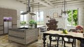ino provence rustic style kitchen design ideas