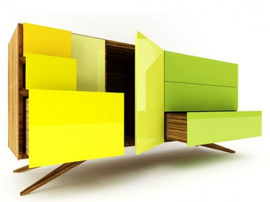 intelligent sideboard design ISO System 216 Invisible City