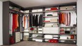modern closet storage system