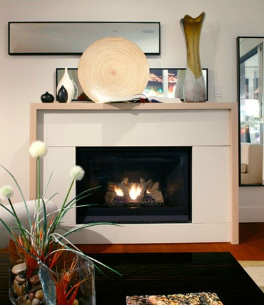 Modern Style Fireplaces Design With Bio Fuel Burners