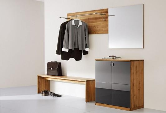 simple minimalist cubus walk-in wardrobes design by team7