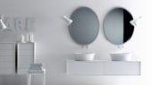 Coco washbasin wall for luxury bathroom furniture