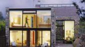 Contemporary Stone House Ideas exterior design