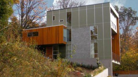 Crane Residence Three Story House