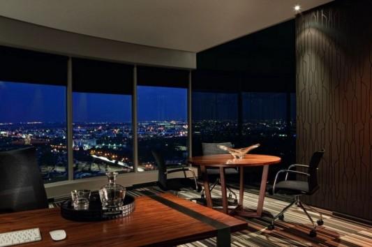 Elegant and luxurious office interior design ideas