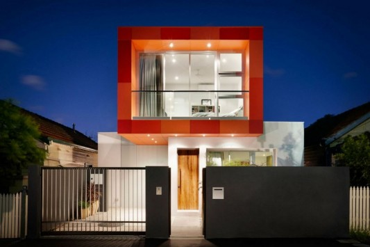 South Yarra House by LSA Architects Eclectic Streetscape Residence