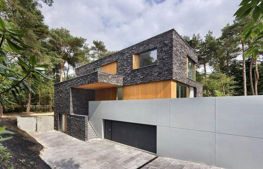 abstract villa exotic and tough