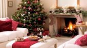 beautiful Christmas tree decorating ideas for living room