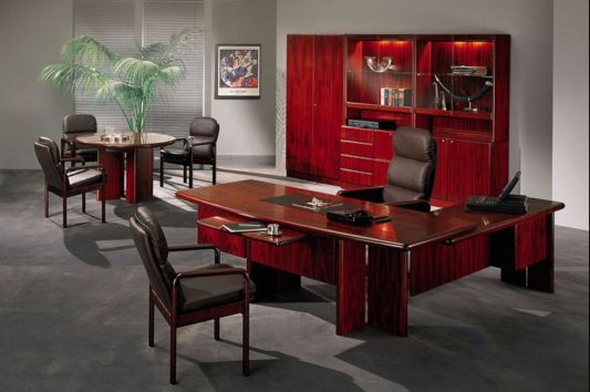 Contemporary Executive Office Furniture Commodore By
