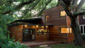 contemporary wooden house design ideas