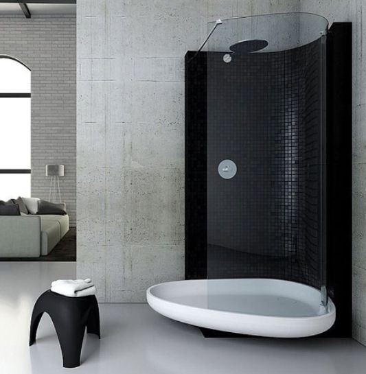 cool ideas shower bath combination