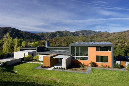lima dwelling modern design exterior