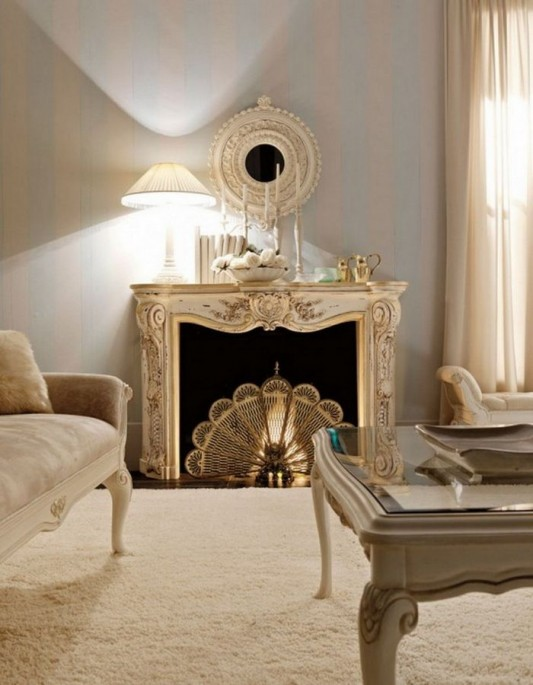luxurious classic fireplace design ideas and inspiration