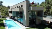 luxury residence in dionisos by Nikos Koukourakis and Associates