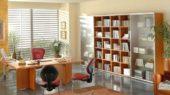 minimalist office interior fresh and stylish design