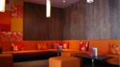 moody and modern restaurant interior design ideas