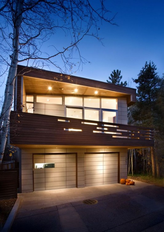 Modern Two Storey House Design With Terrace: Small Modern Two-Storey Residence, Kendrick House By