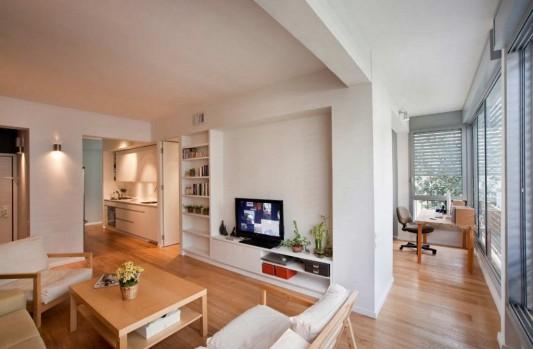 small apartment renovation living room design