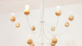 two tier chandelier framework for classic feel