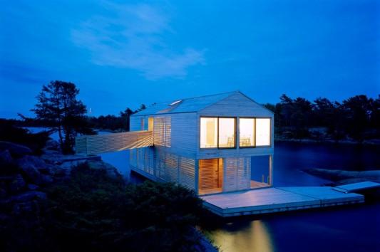 unique floating house design ideas