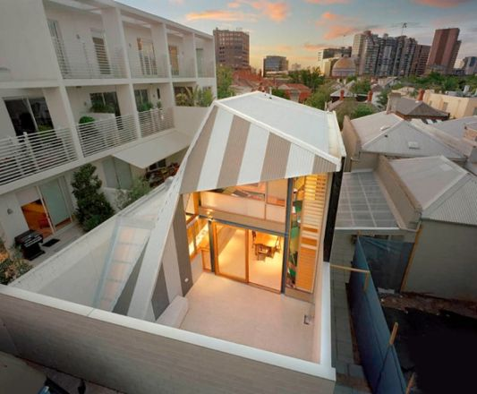 unique roof for modern home ideas