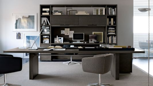 Executive offices furniture and home office by b b italia for Office design italia srl