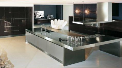 Modular Black To The Luxury Modern Kitchen Design .