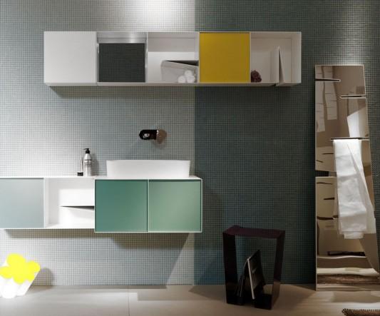 Notch Cabinet - versatile aluminum cabinet modern design