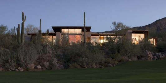 The Brown Residence by LakeFlato Architects beautiful naturally design