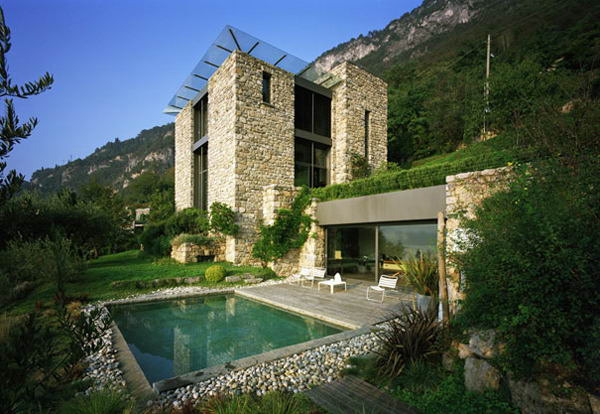 amazing house stone design