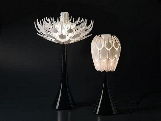 beautiful bloom table lamp design