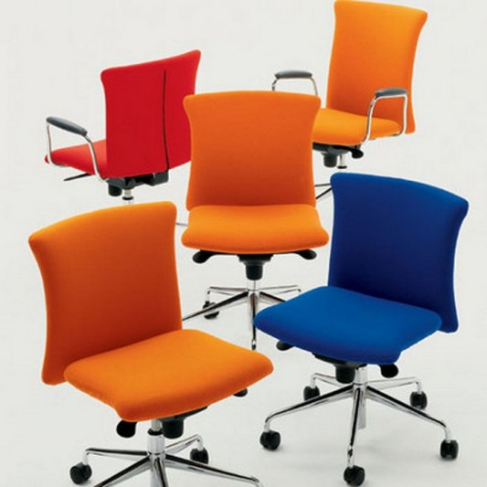 colorful modern executive office chair design