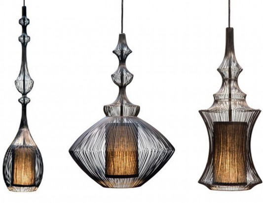 emperor, opium and tibet beautiful pendant lamps
